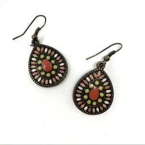 Francesca's Colorful Southwestern Dangle  Earrings